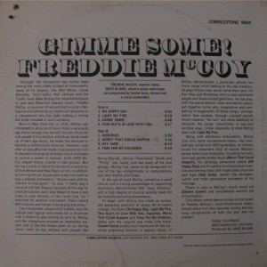 Freddie McCoy - Gimme Some! back