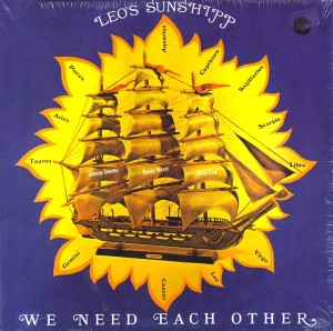 Leo's Sunshipp ‎We Need Each Other front
