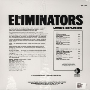The Eliminators Loving Explosion back