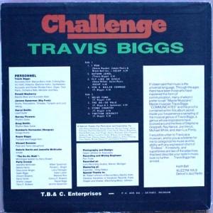 Travis Biggs challenge back