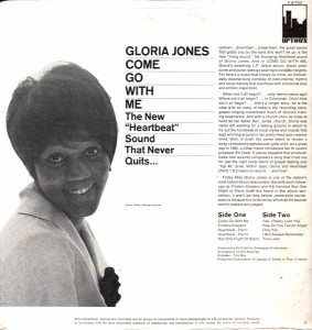 gloria jones - come go with me uptown (bc) 1966