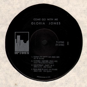 gloria jones - come go with me uptown (lp1) 1966