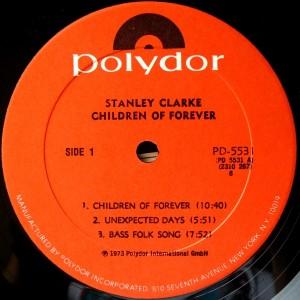 stanley clarke - children of forever - label 1