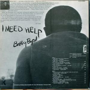 Bobby Byrd I nned Help back