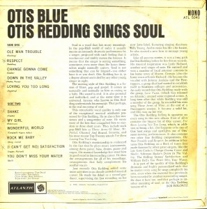 otis redding - otis blue back