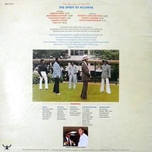 The Spitit of Atlanta 1973 - The Burning Of Atlanta back