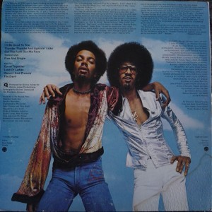 The Brothers Johnson – Look Out For #1 back