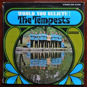 the tempests - would you believe !! front cover