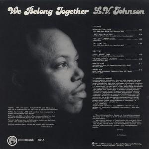 L.V. Johnson - 1981 -We Belong Together back