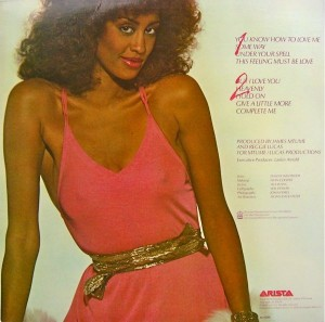 Phyllis Hyman You Know How To Love Me back