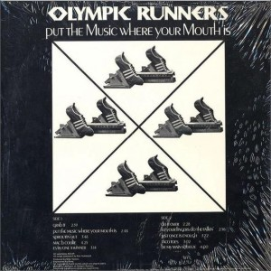 The Olympic Runners Put the Music Where Your Mouth Is Back
