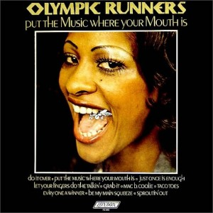 The Olympic Runners Put the Music Where Your Mouth Is Front