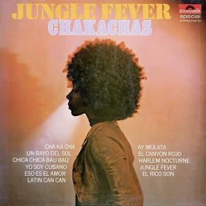 chakachas - jungle fever original belgium lp front