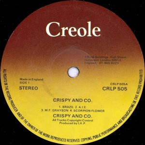 Crispy & Co.Funky Flavored label 1
