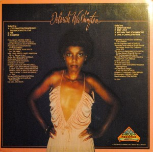 Deborah Washington Any Way You Want It back