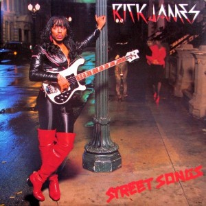 Rick James ‎Street Songs front cover