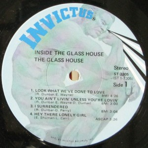 The Glass House Inside The Glass House label1