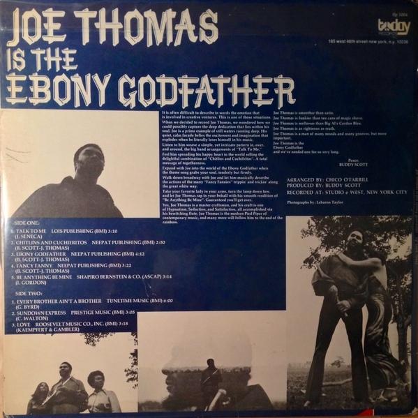 joe thomas ebony godfather