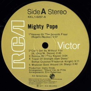 the mighty pope label 1