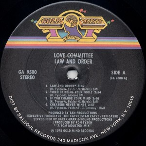 love committee label 1