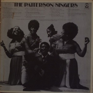 The Patterson Singers back