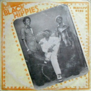The Black Hippies 1977 front
