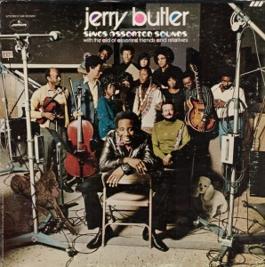 jerry butler - sings assorted sounds - front