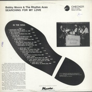 Bobby Moore & Rhythm Aces Searching for my love BACK