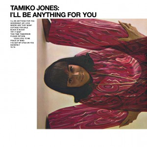 Tamiko Jones 1968 I'll Be Anything For You back