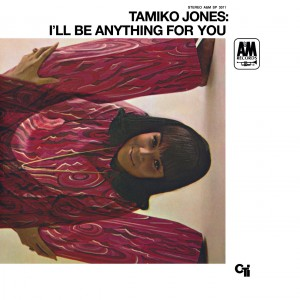 Tamiko Jones 1968 I'll Be Anything For You front