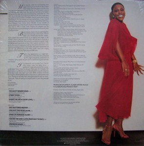 TASHA THOMAS - 1978 - MidnightRendezvous'78 Atlantic) back