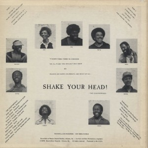 The Chapparrals Shake Your Head back