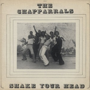 The Chapparrals Shake Your Head front