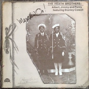 The Heath Brothers Marchin' On! front