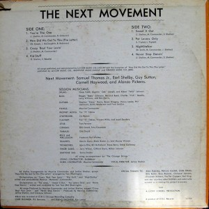the next movement back