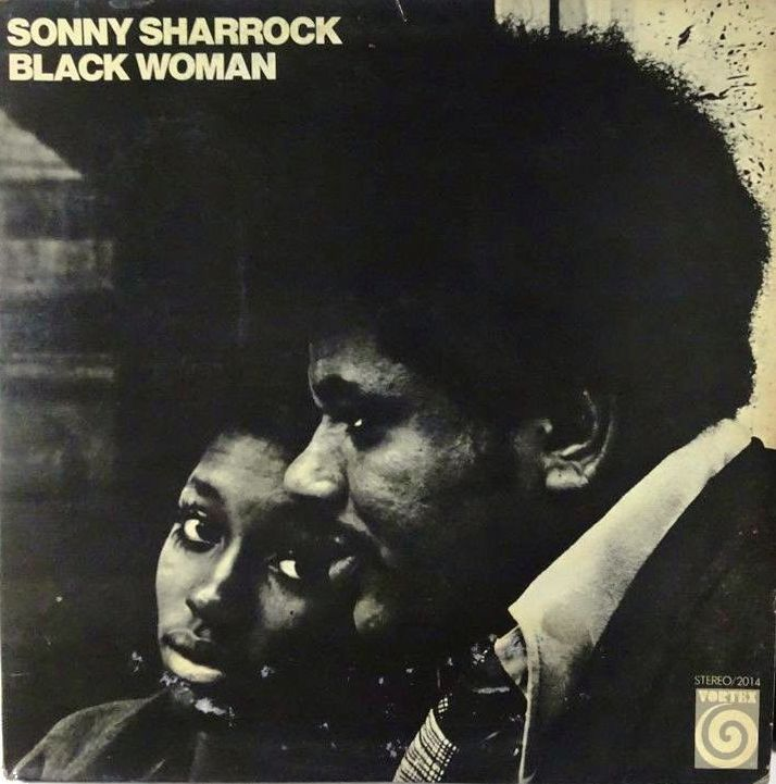 Sonny Sharrock - 1969 - Black Woman Cover